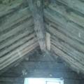Entkernter Dachboden