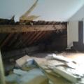 Dachboden vor dem Umbau
