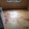Küche im Schwedenhaus - neuer Dielenboden