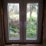 Fenstereinbau-schwedisches-Ferienhaus